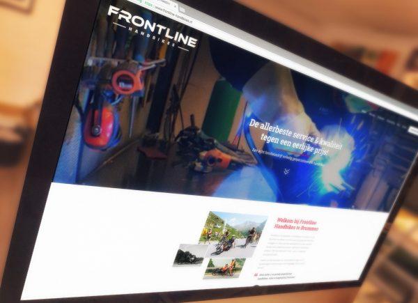 Nieuwe Frontline Handbikes website